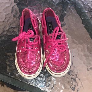 Toddler girl sperry's size 9